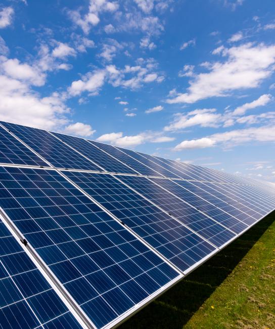 פרויקטים סולאריים קרקעיים